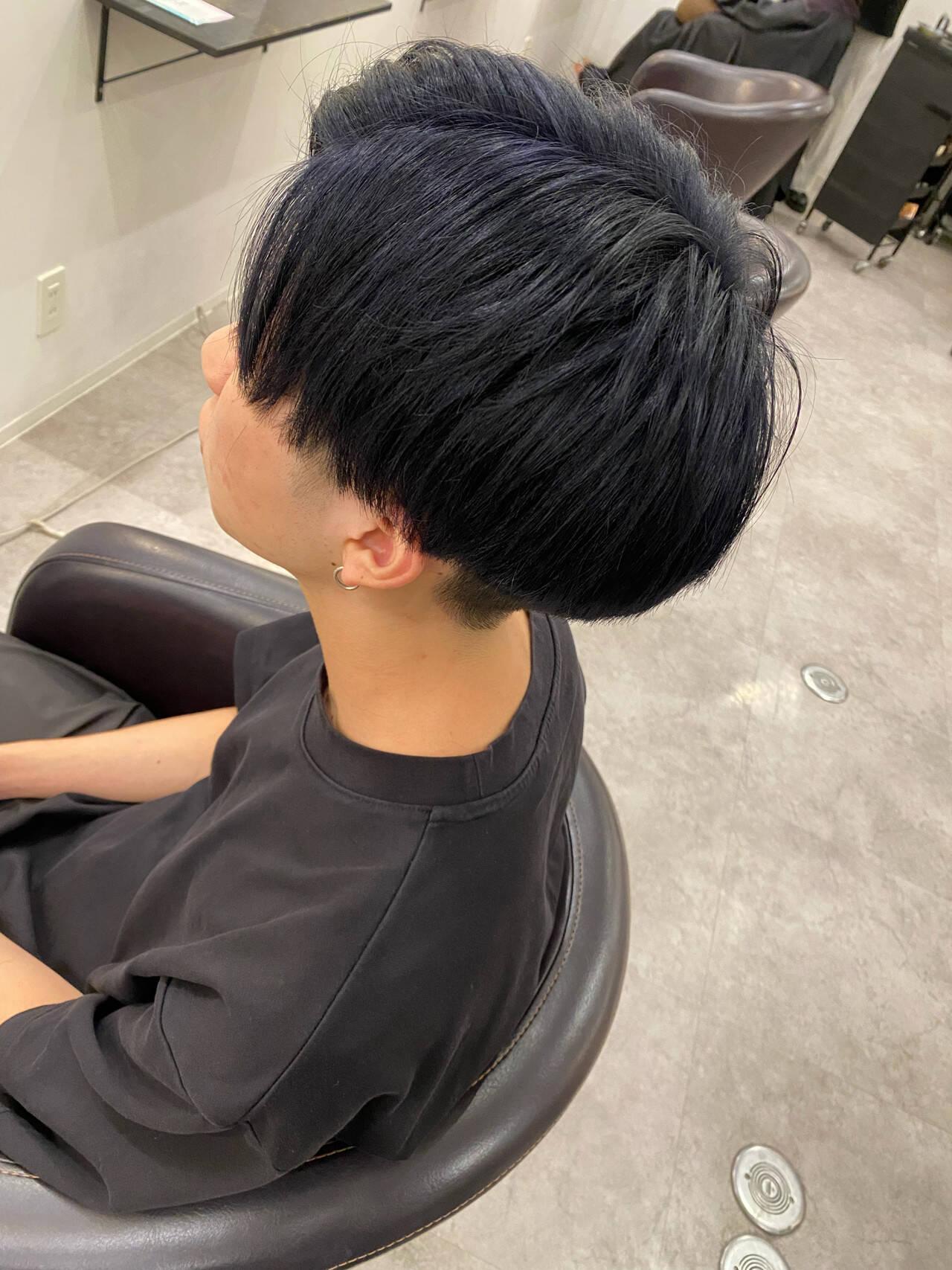 メンズマッシュ ナチュラル メンズショート メンズヘアヘアスタイルや髪型の写真・画像