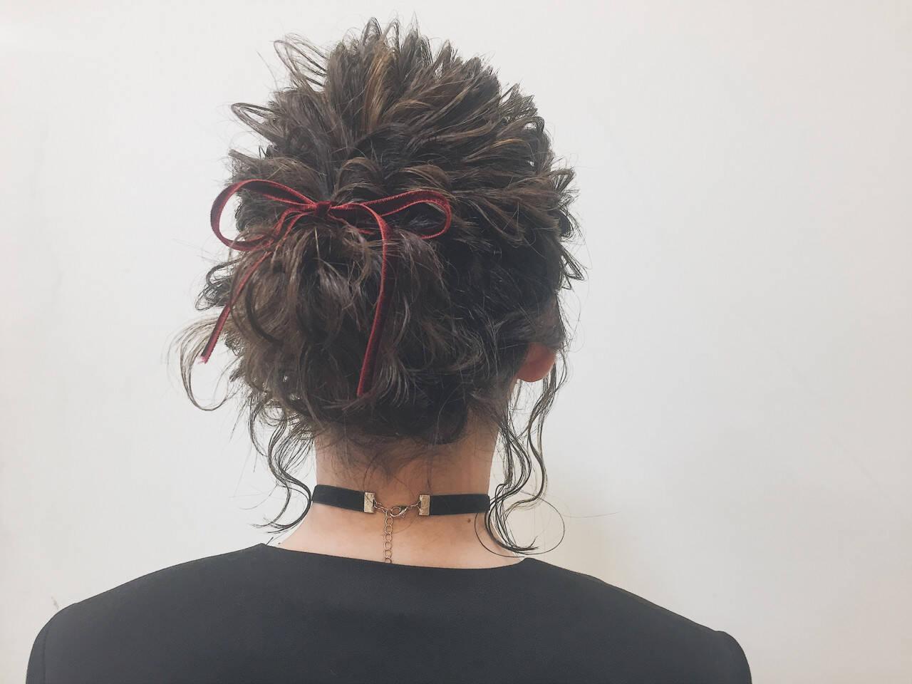 ヘアアレンジ ボブ 結婚式 パーティヘアスタイルや髪型の写真・画像