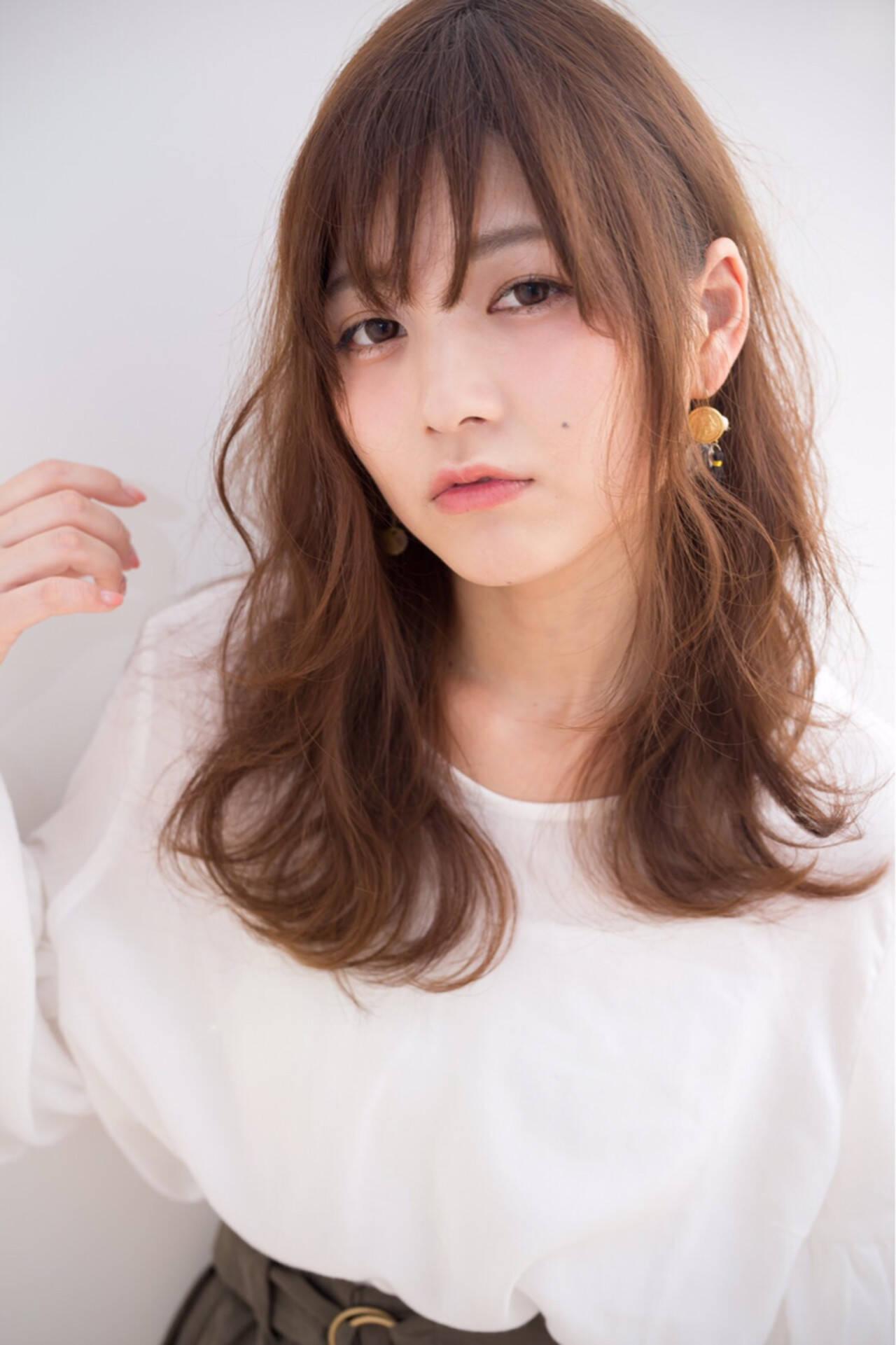 ガーリー ゆるふわ 愛され 大人かわいいヘアスタイルや髪型の写真・画像