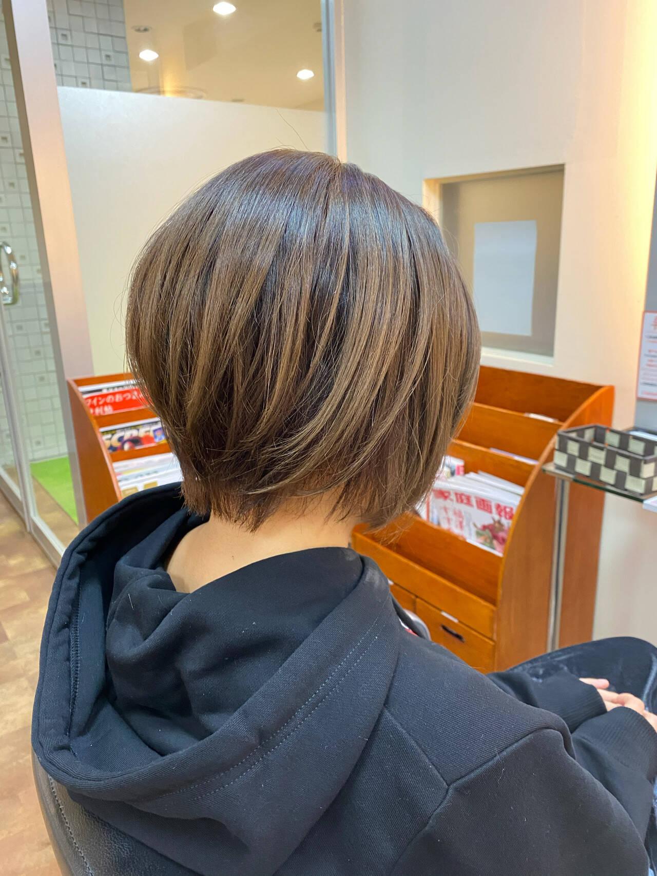 ストリート ショート ツーブロック 美シルエットヘアスタイルや髪型の写真・画像