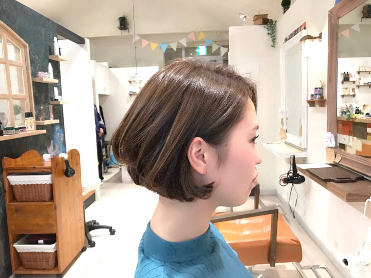 ボブ イルミナカラー 色気 大人女子ヘアスタイルや髪型の写真・画像