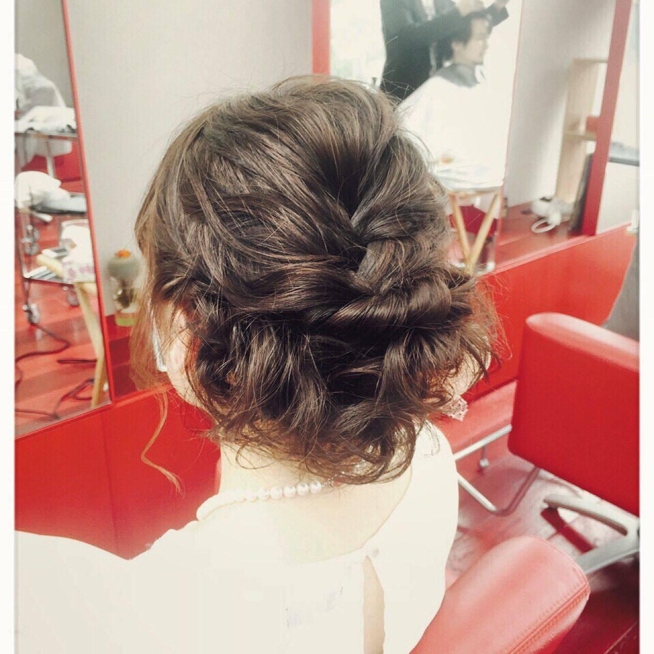 原宿系 ボブ ヘアアレンジ モテ髪ヘアスタイルや髪型の写真・画像