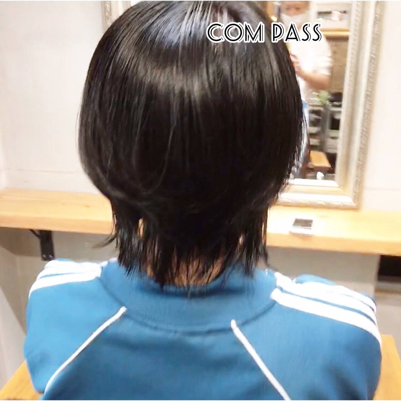 ウルフカット ストリート ミニボブ ショートボブヘアスタイルや髪型の写真・画像
