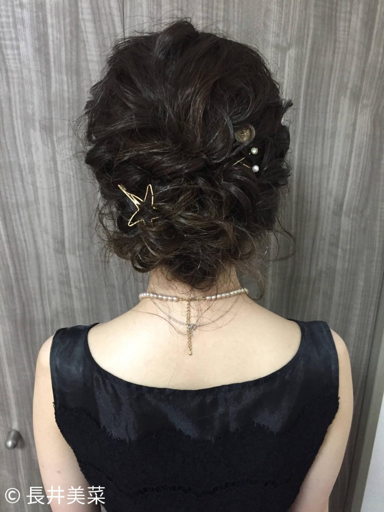 結婚式 ヘアアレンジ 色気 夏ヘアスタイルや髪型の写真・画像