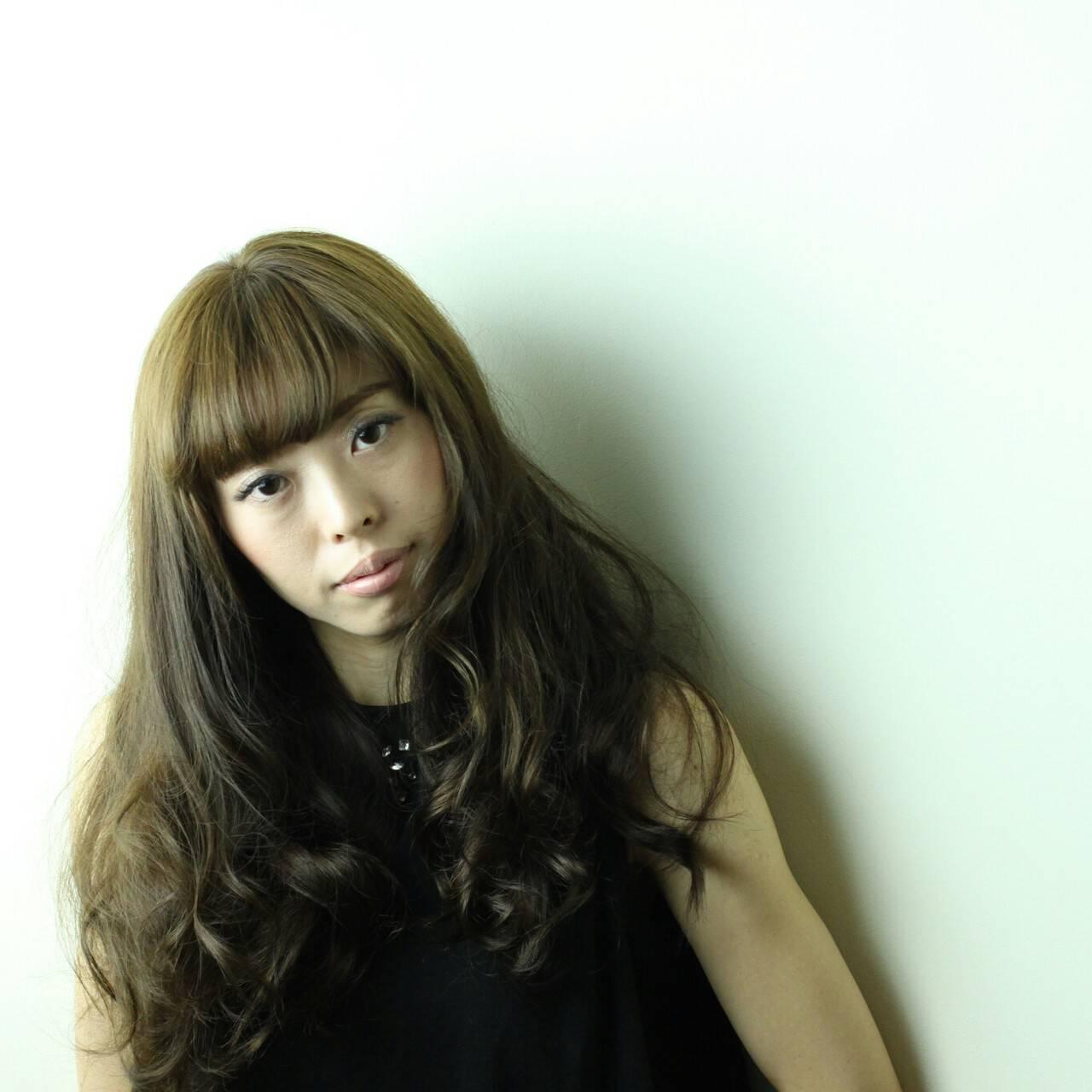 大人かわいい ブラウンベージュ グラマラス ゆるふわヘアスタイルや髪型の写真・画像