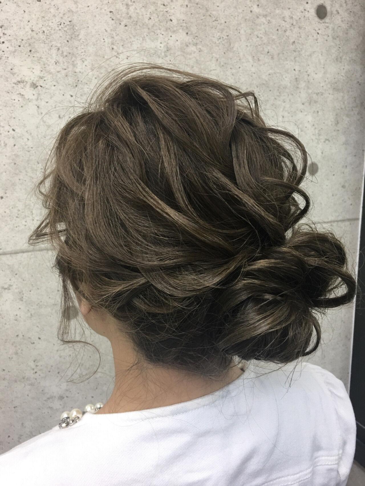 パーティ 成人式 エレガント アップスタイルヘアスタイルや髪型の写真・画像