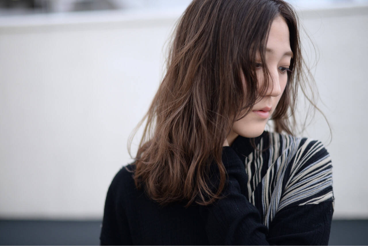 外国人風 ストリート アッシュ ハイライトヘアスタイルや髪型の写真・画像