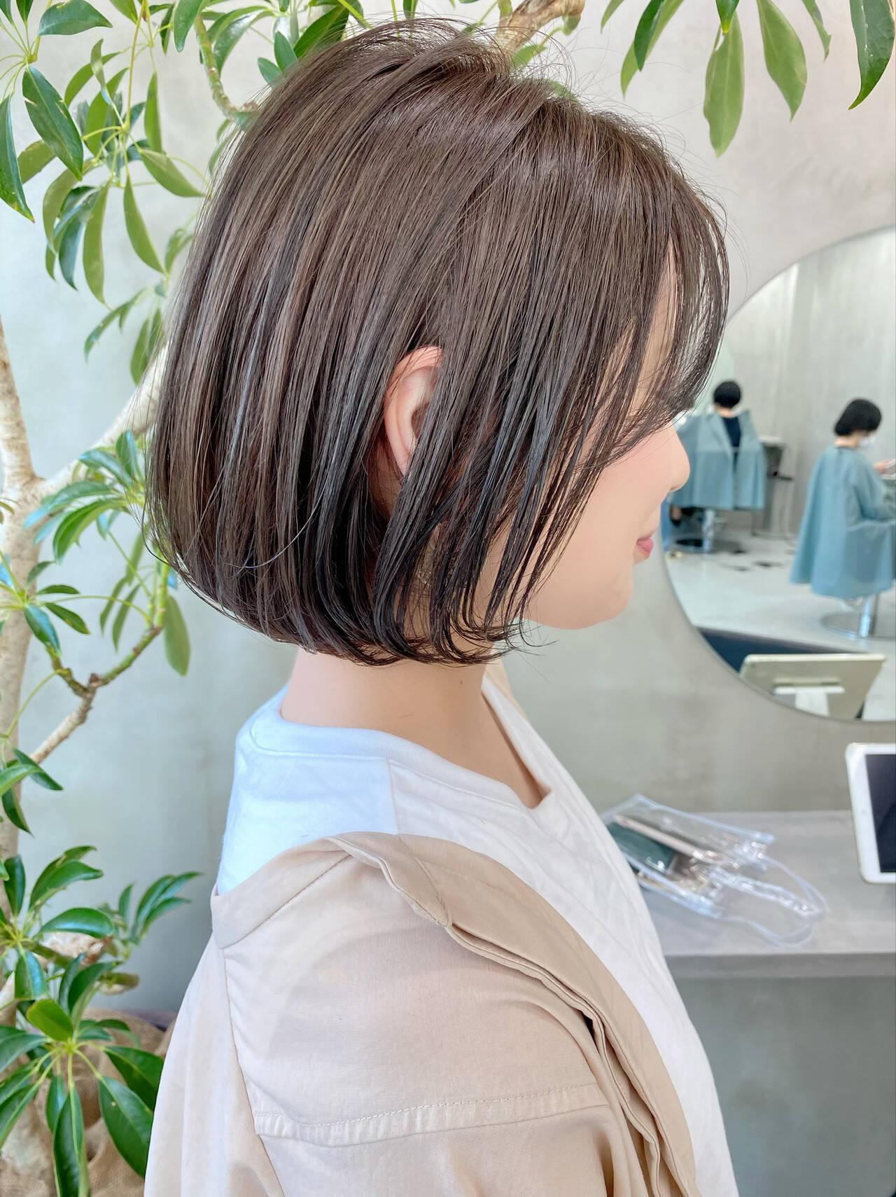 デート ナチュラル ゆるふわ ベリーショートヘアスタイルや髪型の写真・画像