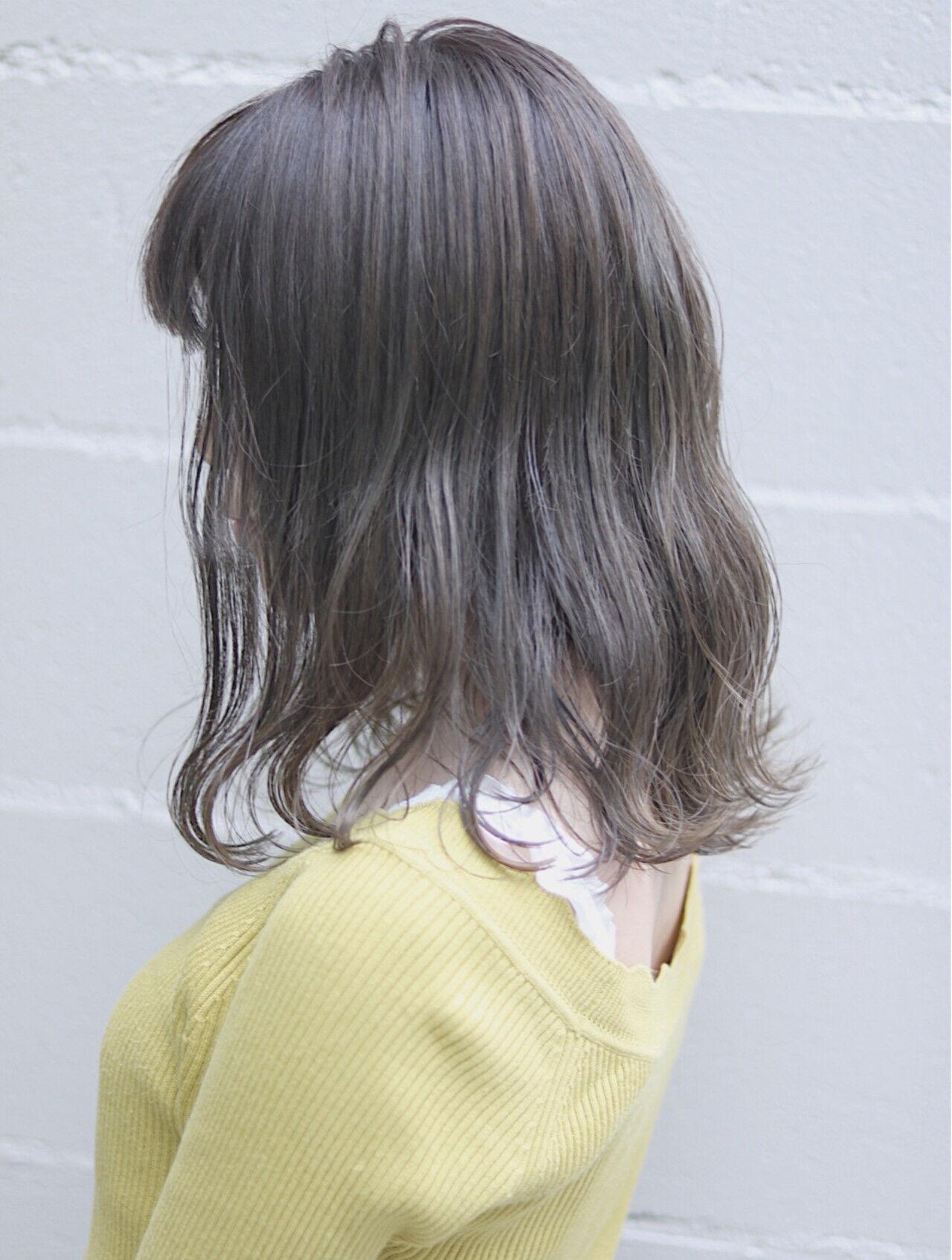 切りっぱなし デート ボブ オルチャンヘアスタイルや髪型の写真・画像