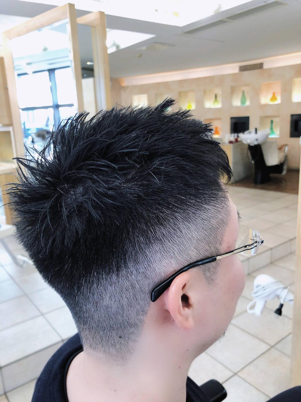 メンズヘア メンズショート メンズスタイル ショートヘアスタイルや髪型の写真・画像
