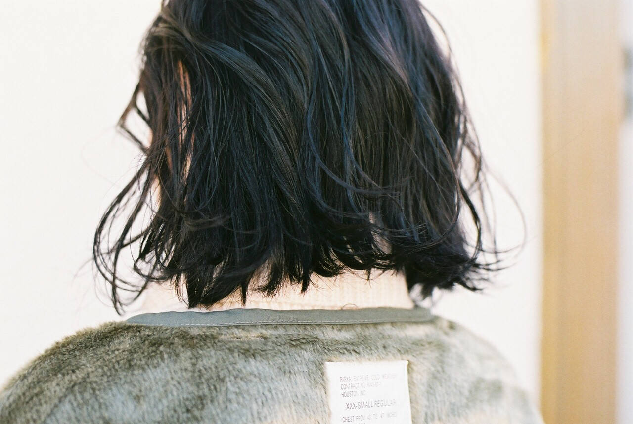 暗髪 ナチュラル 外ハネ スポーツヘアスタイルや髪型の写真・画像