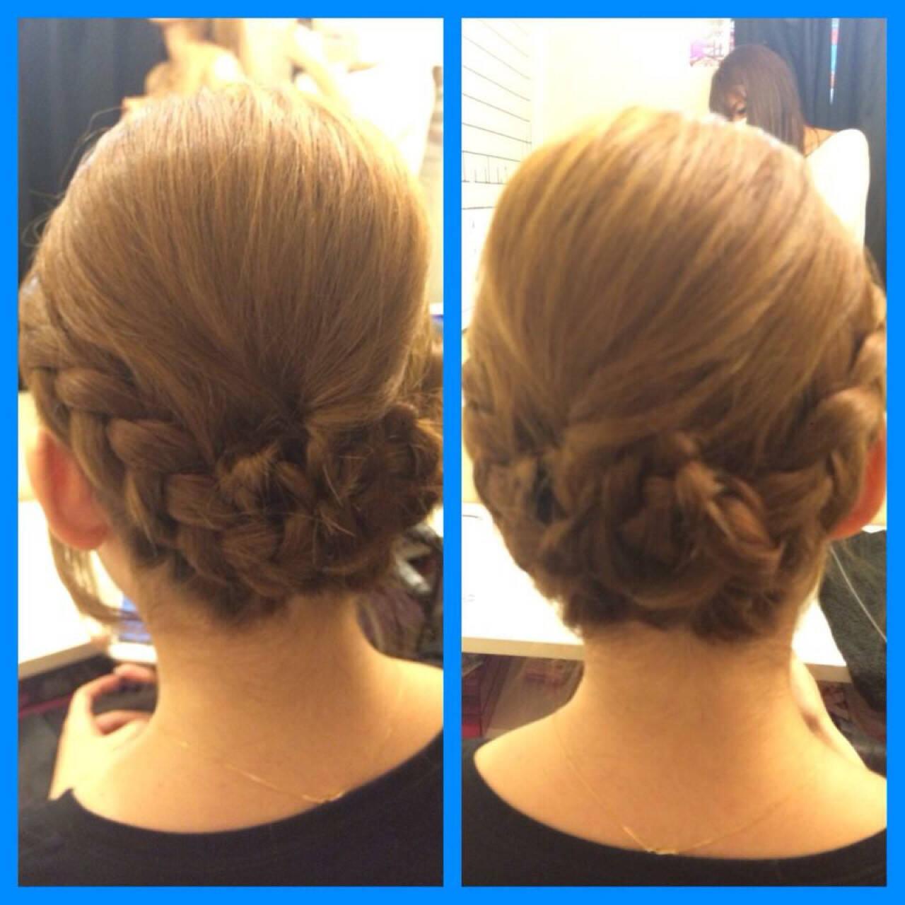 結婚式 和装 セミロング ヘアアレンジヘアスタイルや髪型の写真・画像