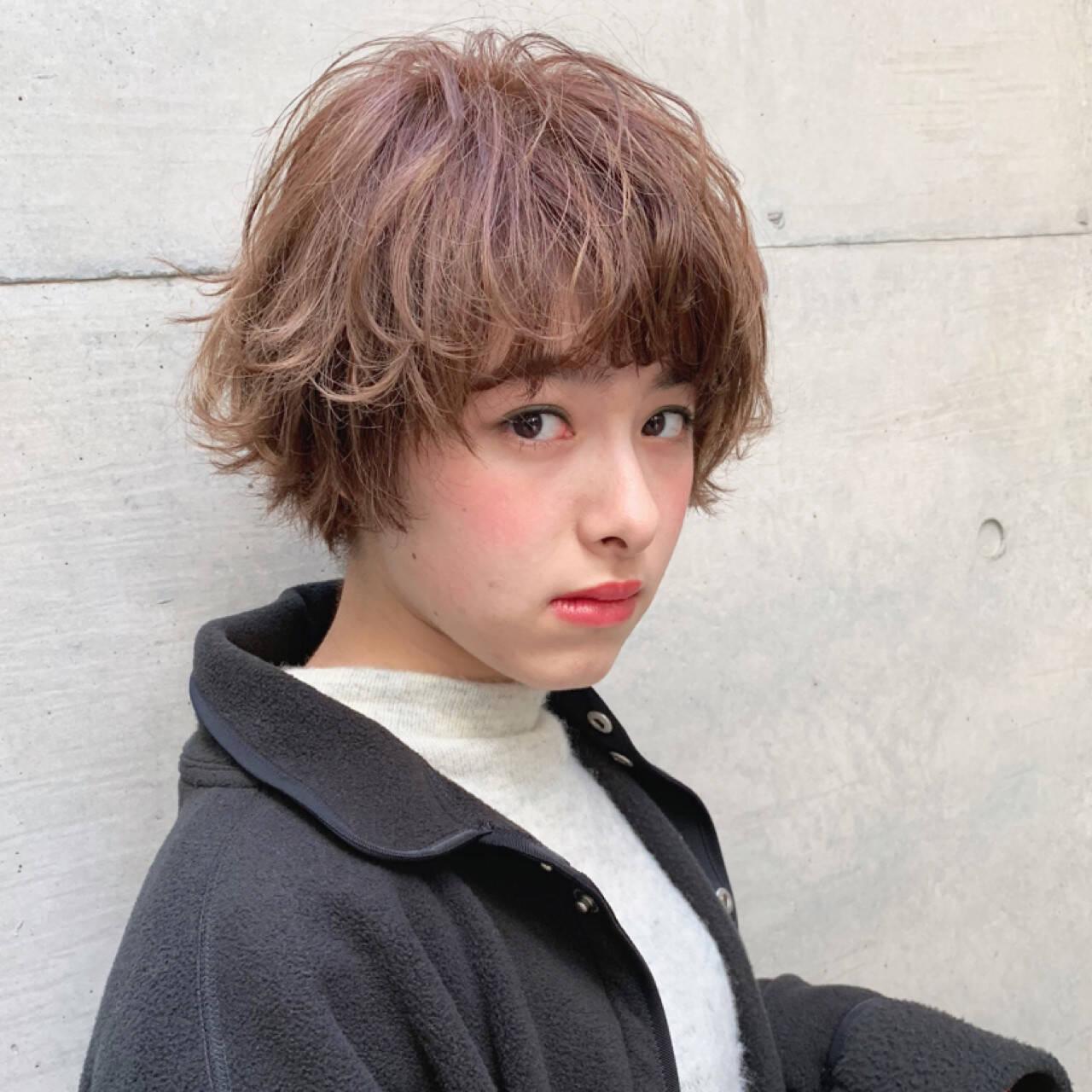 ボブ 大人かわいい フェミニン マッシュヘアスタイルや髪型の写真・画像