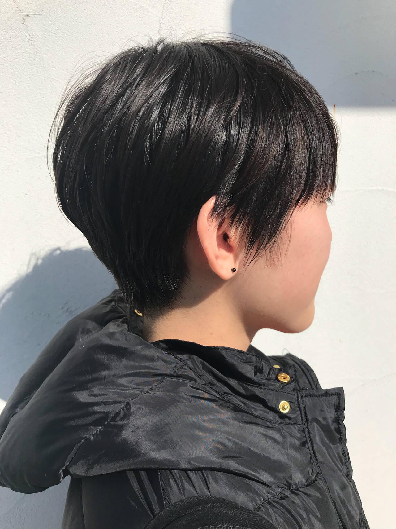 マッシュ マッシュショート ストリート ショートマッシュヘアスタイルや髪型の写真・画像