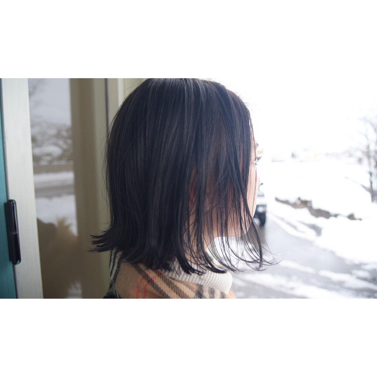 バレンタイン アンニュイ アウトドア 簡単ヘアアレンジヘアスタイルや髪型の写真・画像