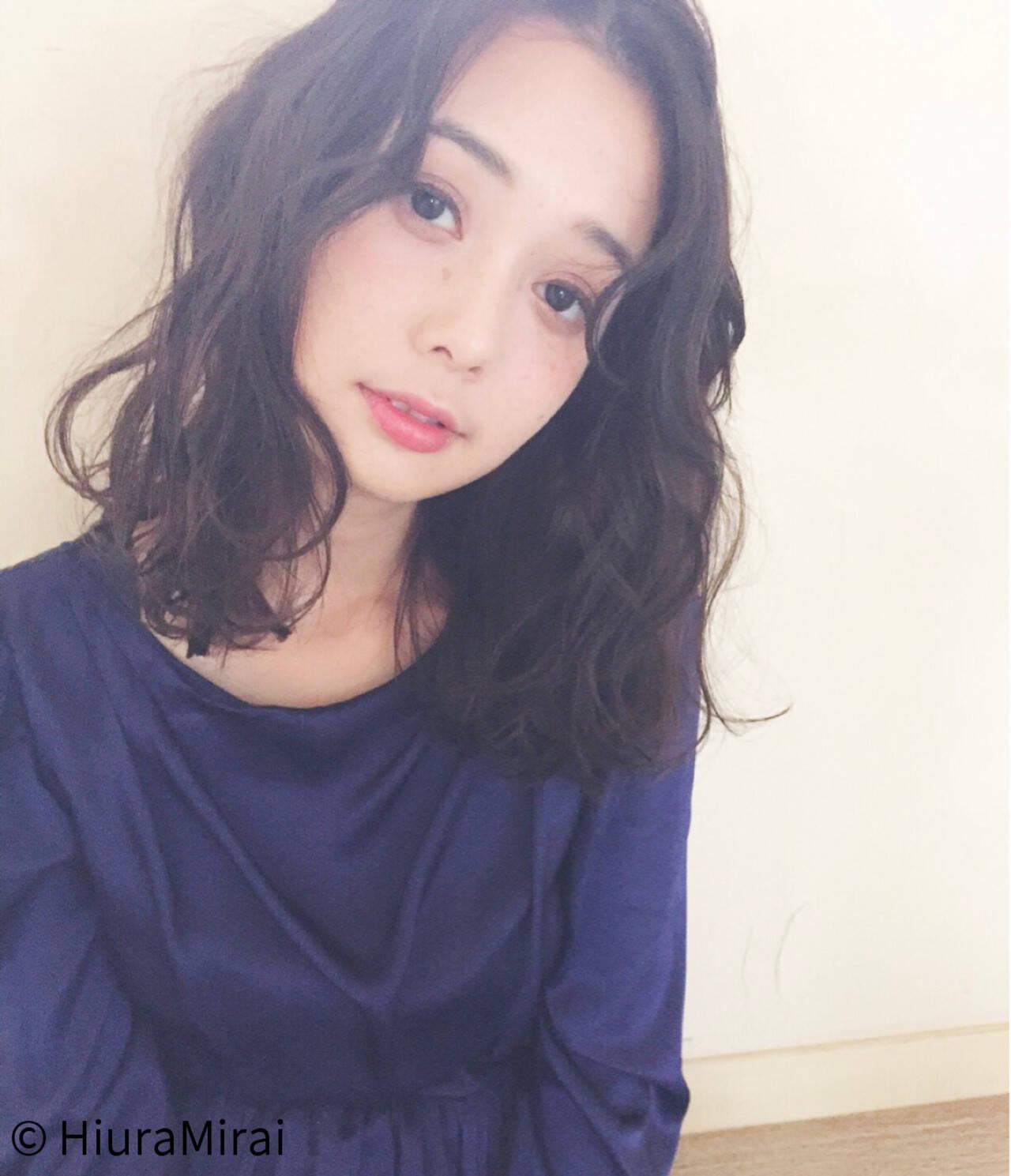 ガーリー デート ミディアム 女子会ヘアスタイルや髪型の写真・画像