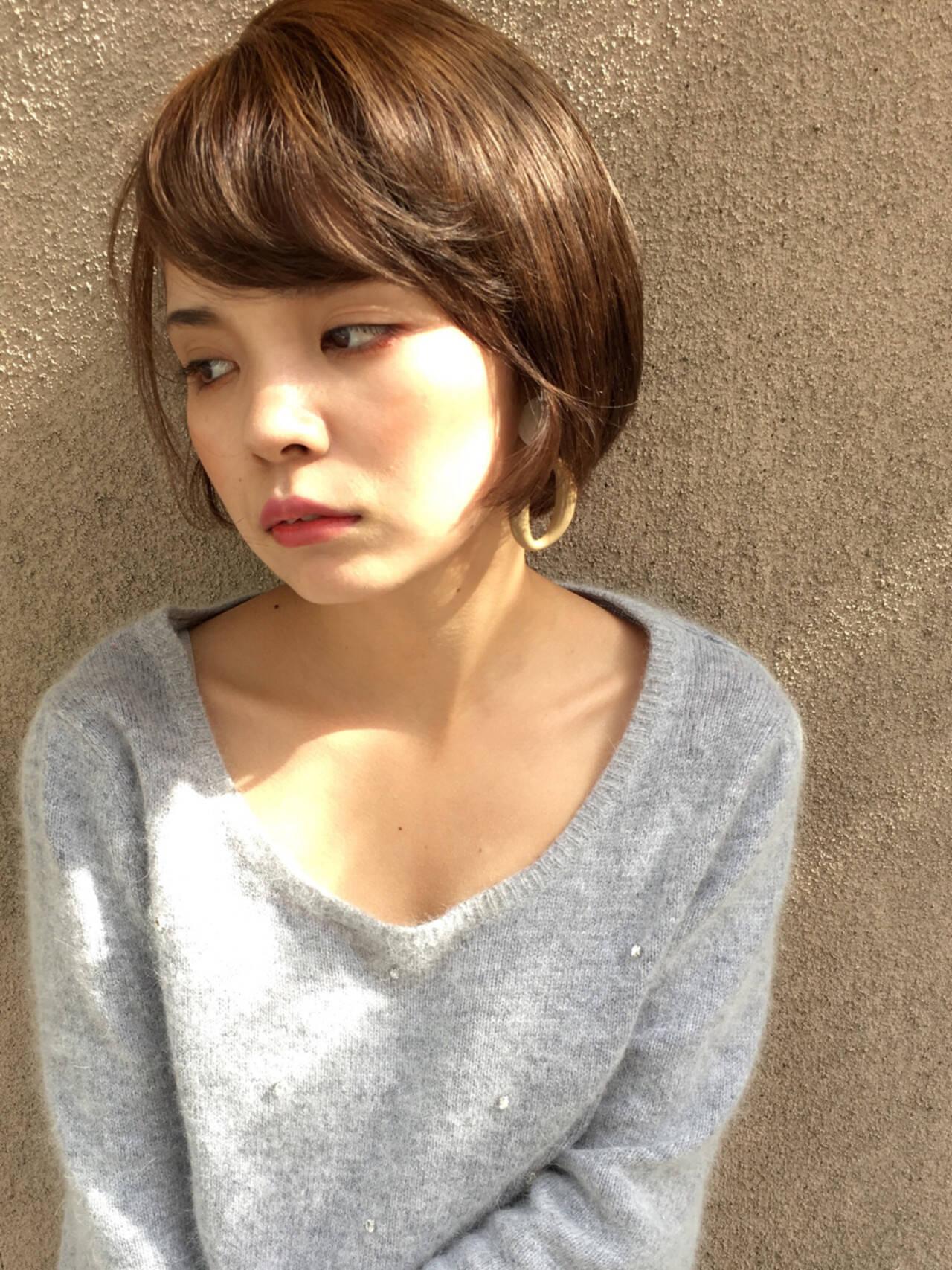 女子力 オフィス デート ナチュラルヘアスタイルや髪型の写真・画像