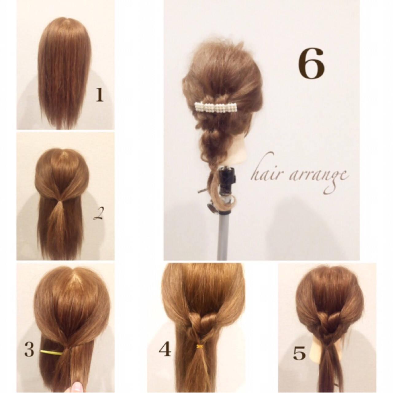 ヘアアレンジ パーティ ルーズ モテ髪ヘアスタイルや髪型の写真・画像