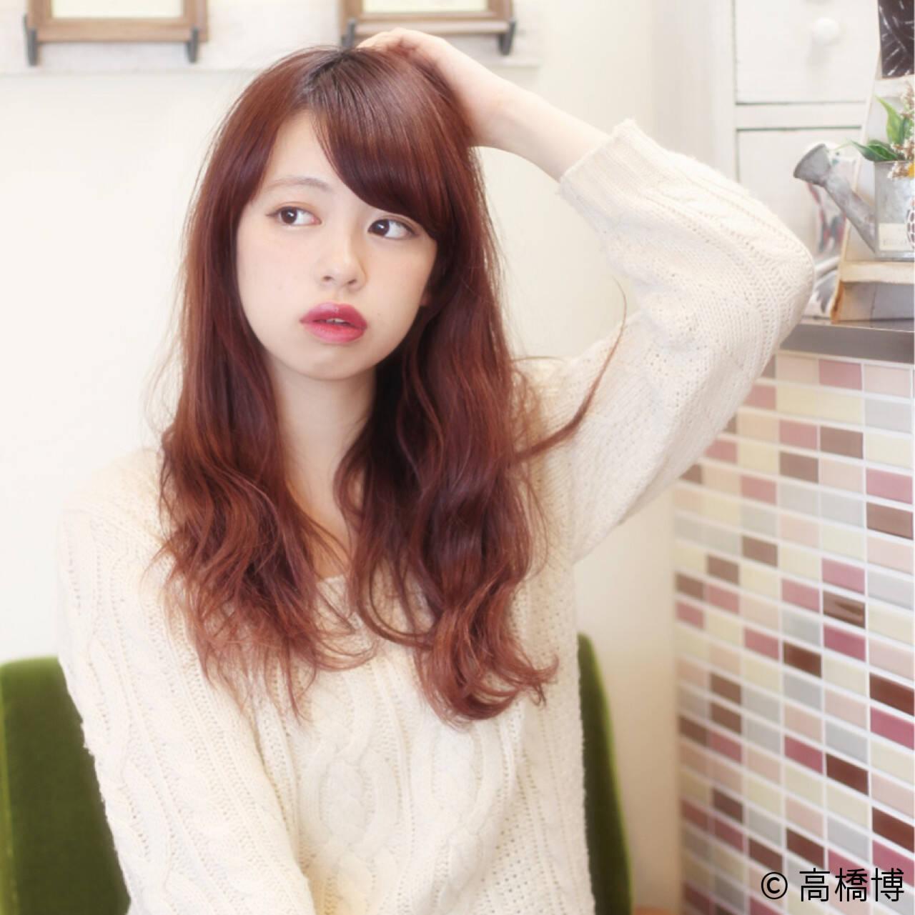 モテ髪 ロング パーマ ゆるふわヘアスタイルや髪型の写真・画像