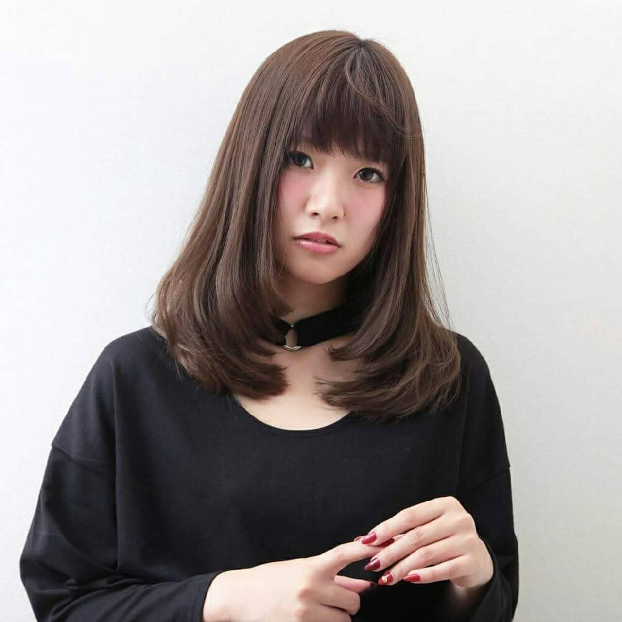 フェミニン ゆるふわ 冬 ナチュラルヘアスタイルや髪型の写真・画像