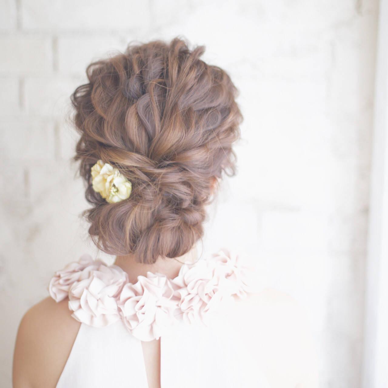 成人式 ショート 外国人風 大人かわいいヘアスタイルや髪型の写真・画像