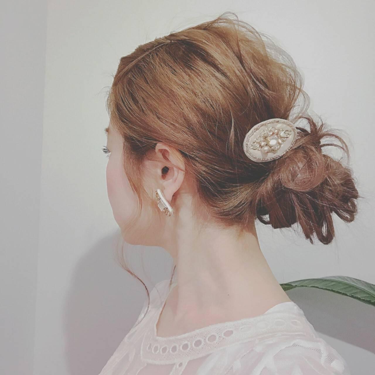 フェミニン ロング 大人かわいい ゆるふわヘアスタイルや髪型の写真・画像
