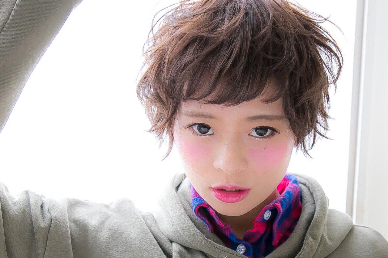 大人かわいい 外国人風 ストリート パーマヘアスタイルや髪型の写真・画像