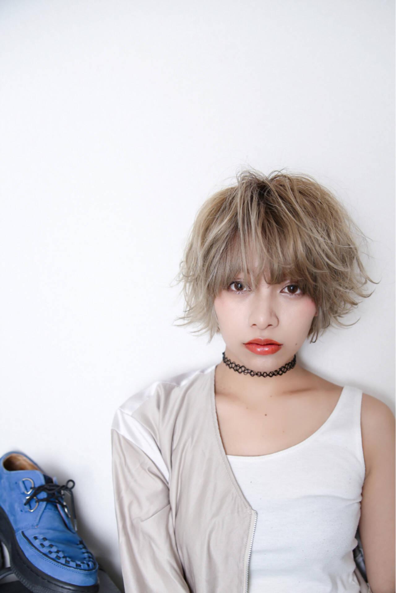 ストリート ショート ラフ かっこいいヘアスタイルや髪型の写真・画像