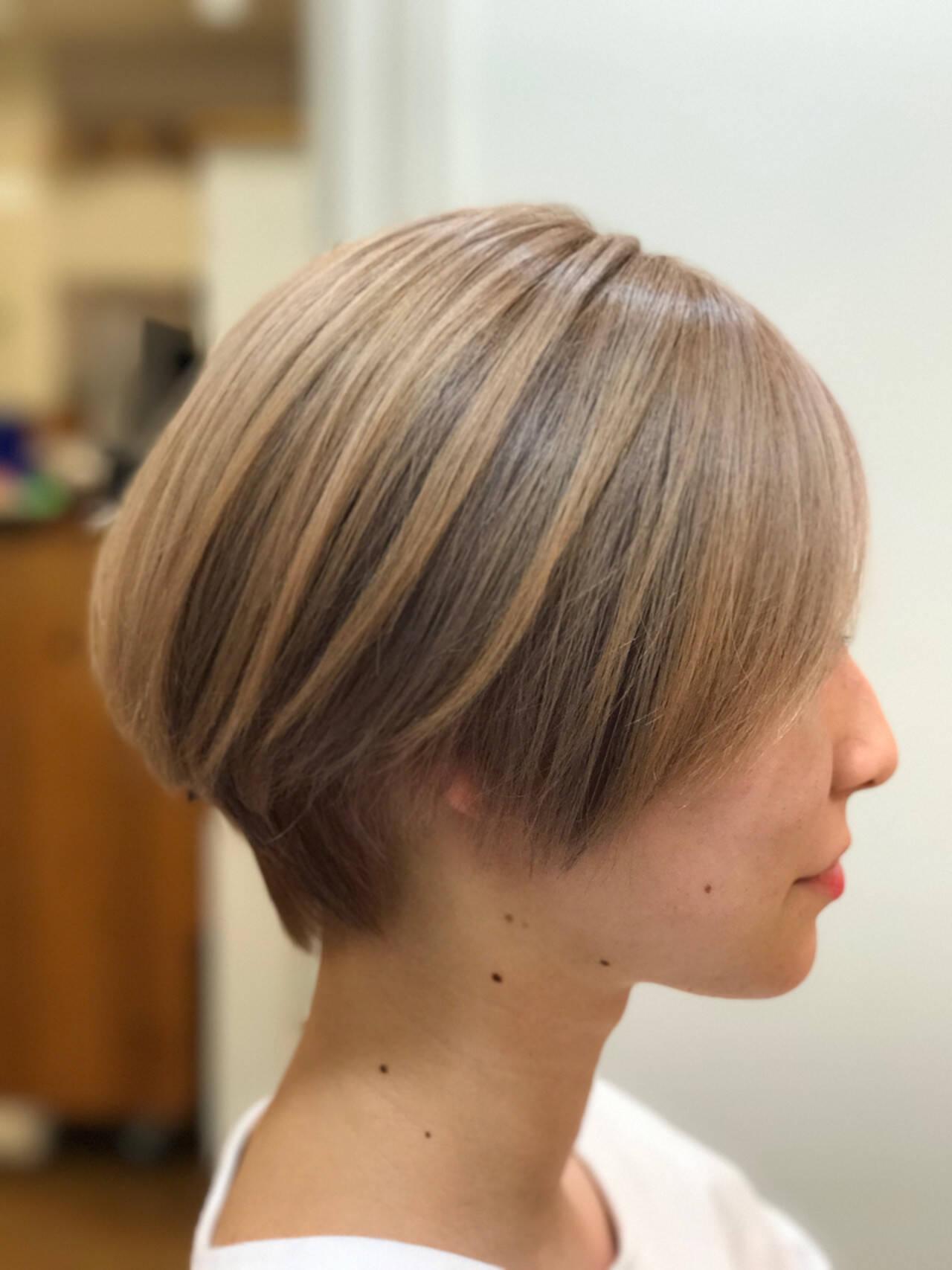 ヘアアレンジ アウトドア オフィス 涼しげヘアスタイルや髪型の写真・画像