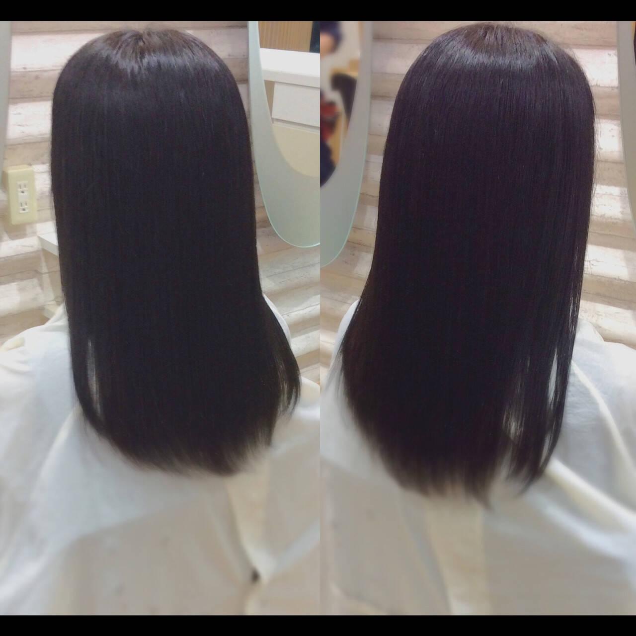 ナチュラル 髪質改善 ロングヘア ロングヘアスタイルや髪型の写真・画像