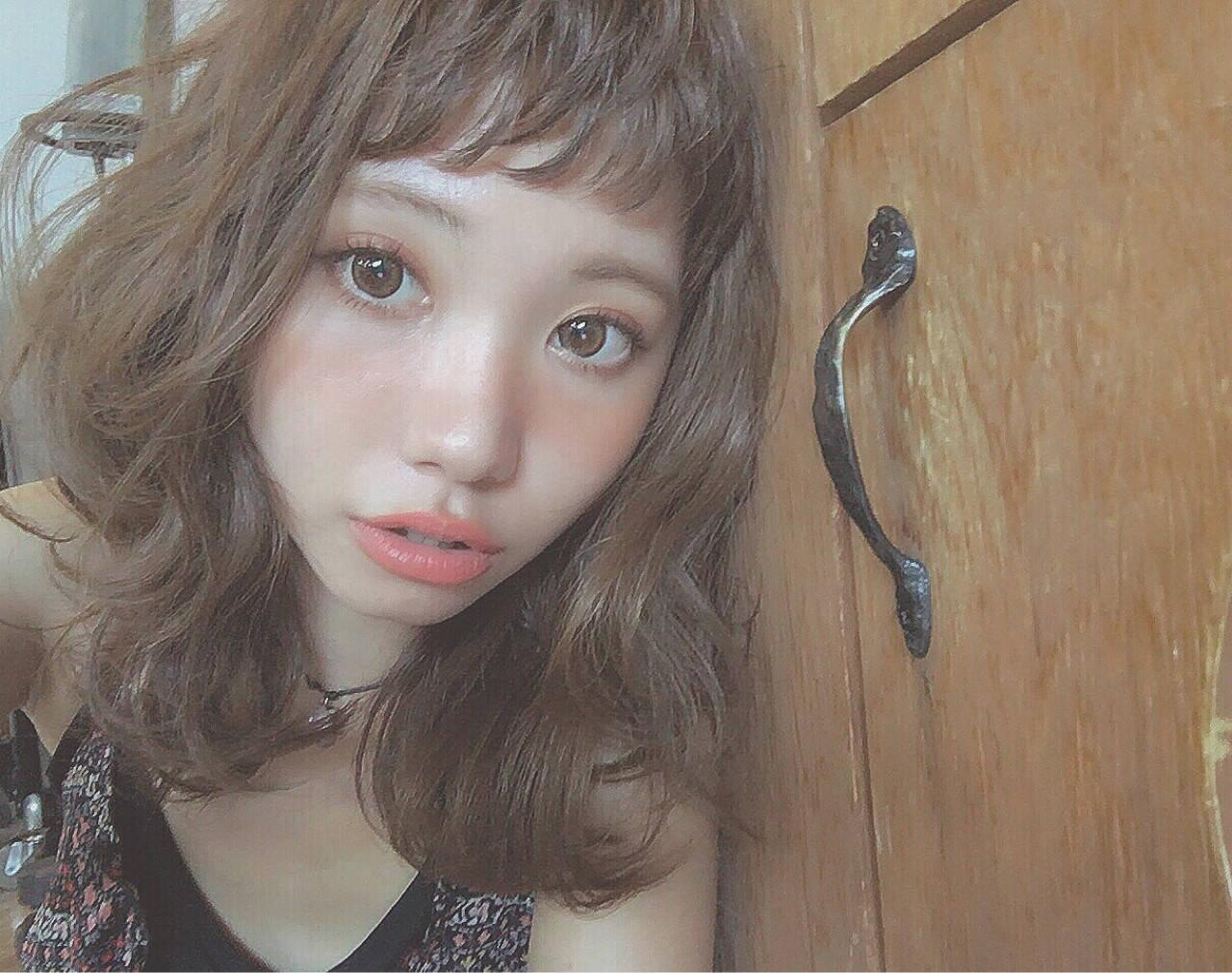 フェミニン ガーリー 外国人風 アッシュヘアスタイルや髪型の写真・画像