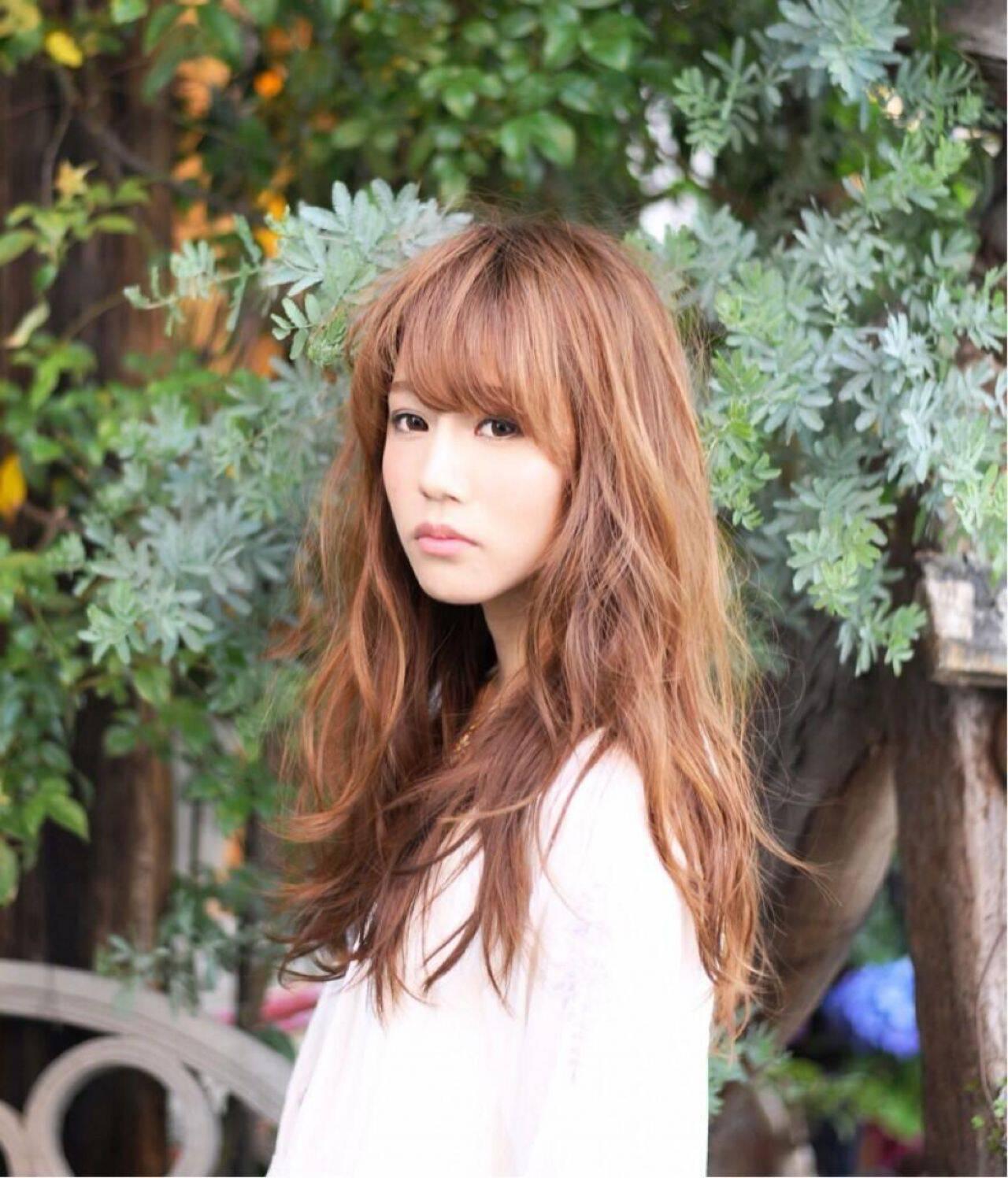 モテ髪 ガーリー ナチュラル ストリートヘアスタイルや髪型の写真・画像