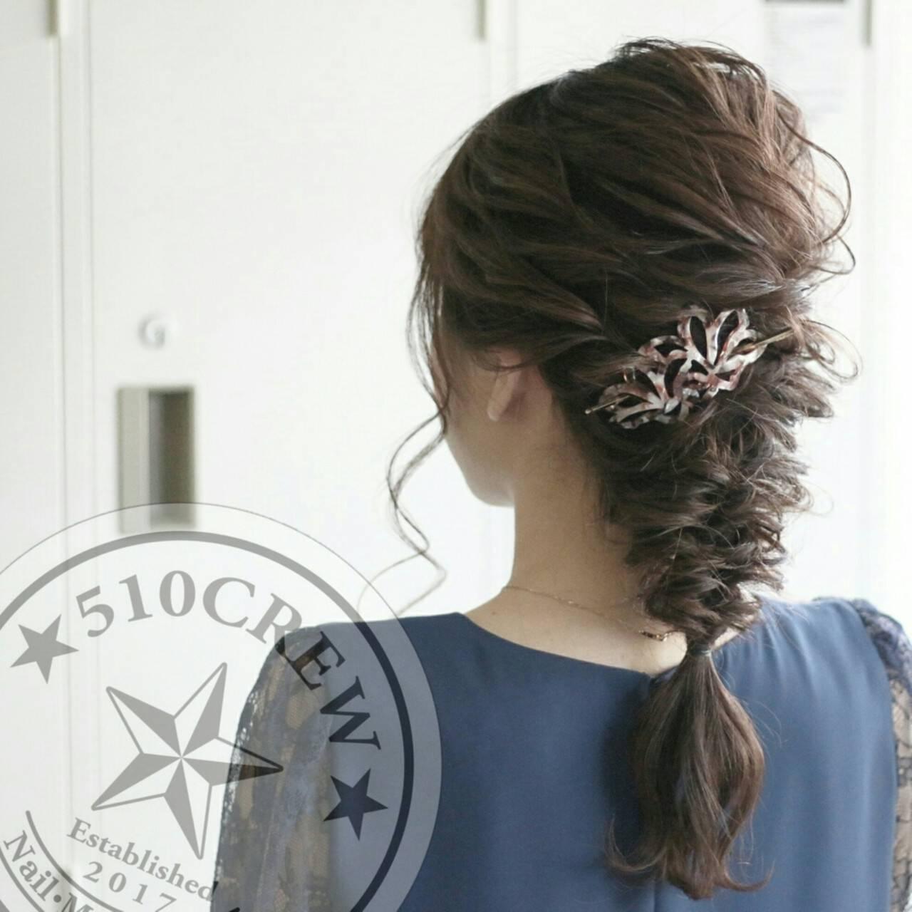 エレガント 大人かわいい ロング ショートヘアスタイルや髪型の写真・画像