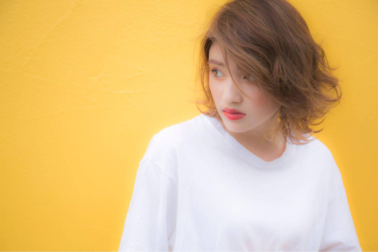 大人かわいい ストリート 外国人風 ハイライトヘアスタイルや髪型の写真・画像