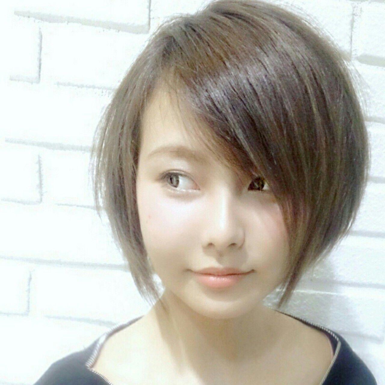 大人女子 大人かわいい 色気 ショートヘアスタイルや髪型の写真・画像