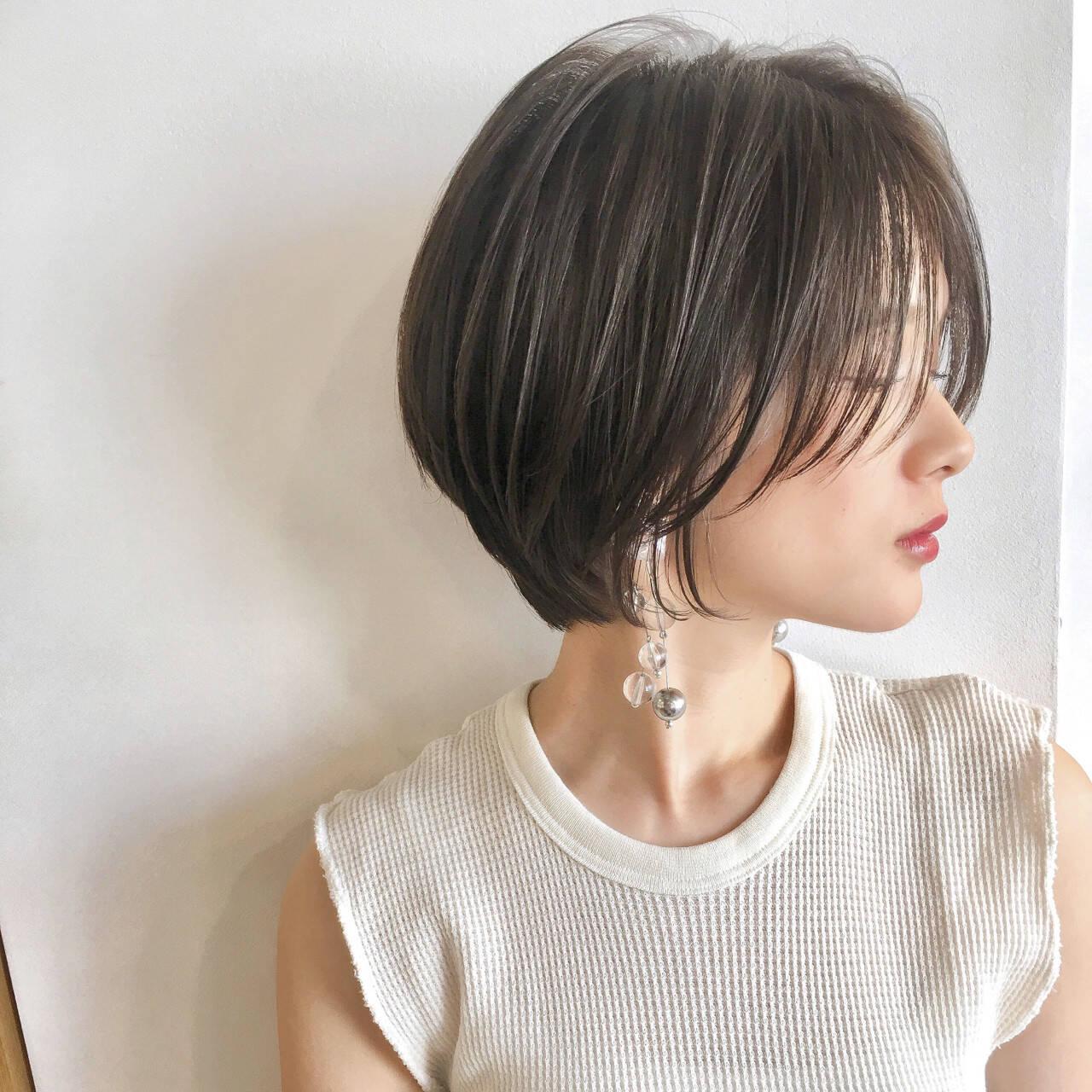 エフォートレス ヘアアレンジ フェミニン オフィスヘアスタイルや髪型の写真・画像