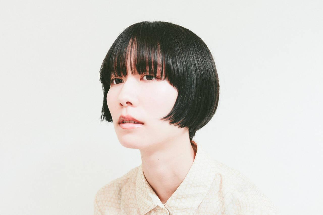 ナチュラル ショートヘア ミニボブ ショートボブヘアスタイルや髪型の写真・画像