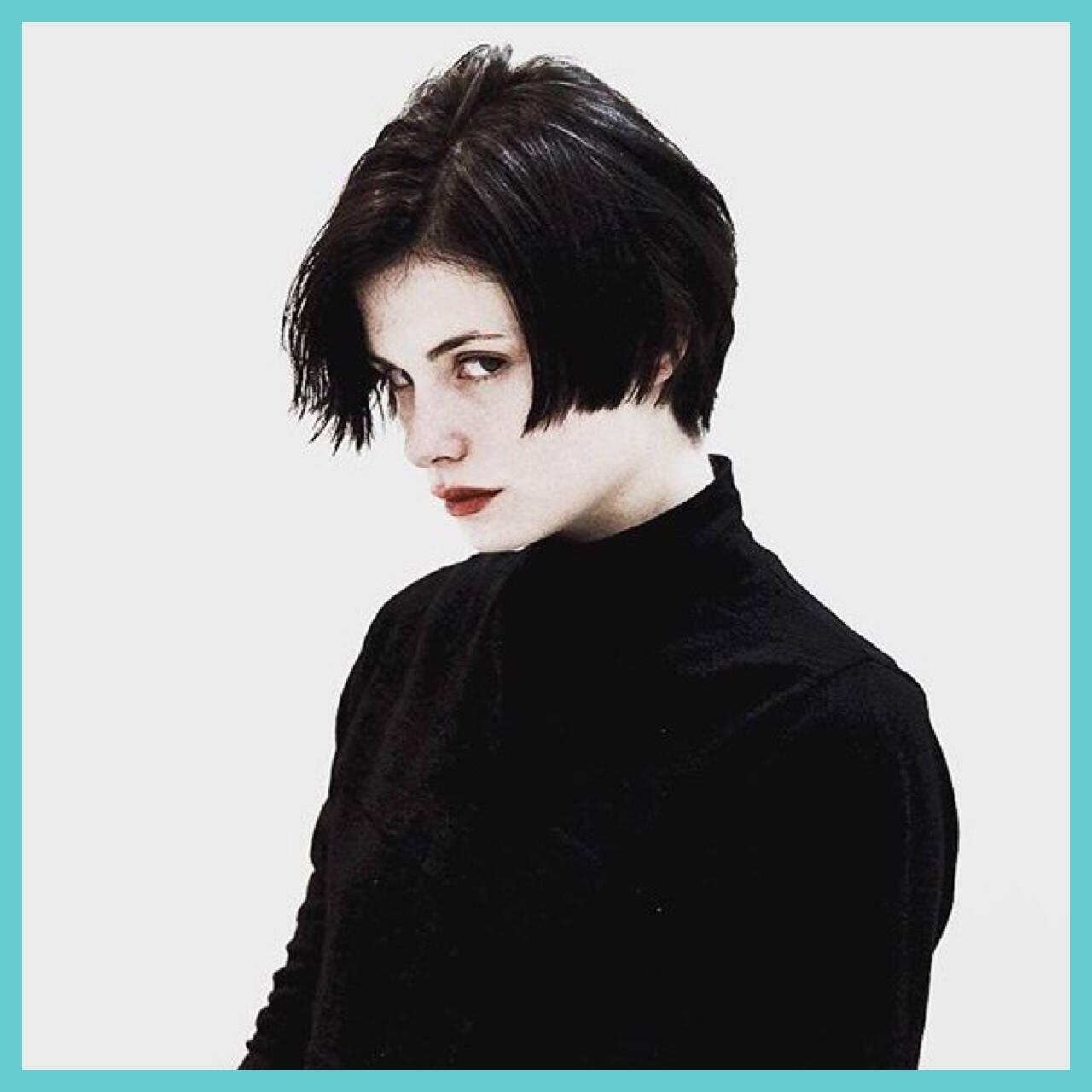 ストリート 外国人風 モード 黒髪ヘアスタイルや髪型の写真・画像