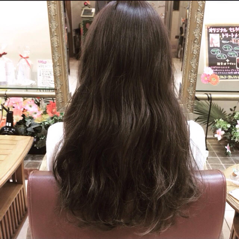アッシュ ガーリー 外国人風 外国人風カラーヘアスタイルや髪型の写真・画像