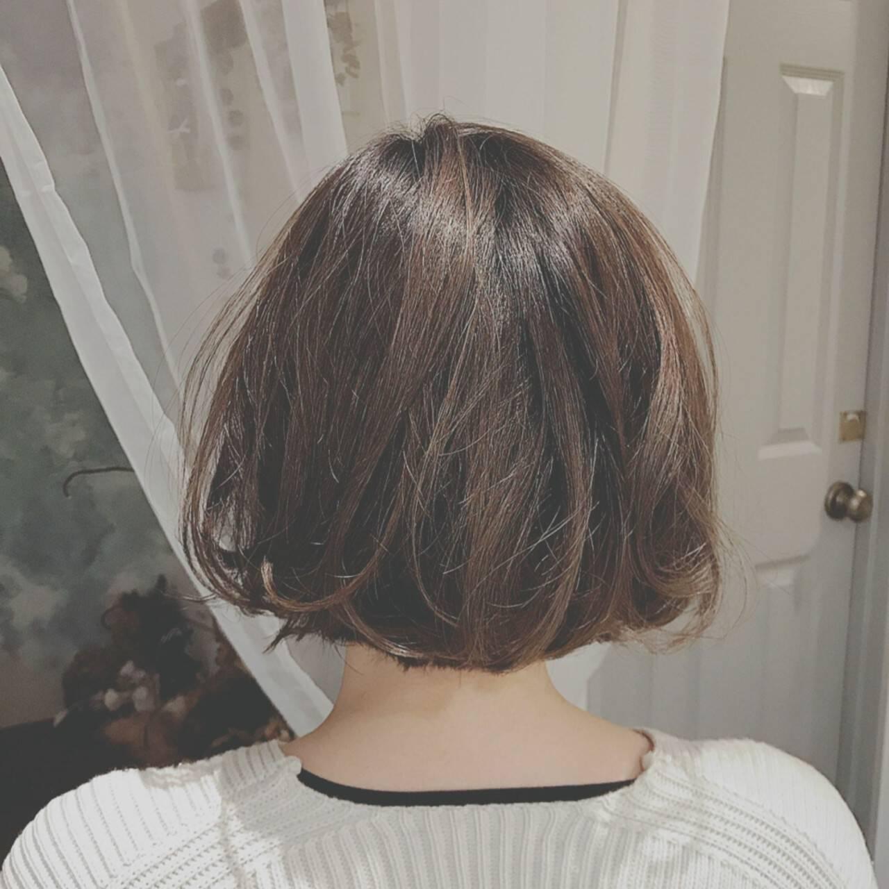 ゆるふわ 冬 大人かわいい オフィスヘアスタイルや髪型の写真・画像