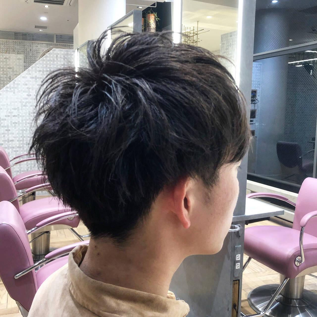ナチュラル メンズカット ショート メンズヘアヘアスタイルや髪型の写真・画像