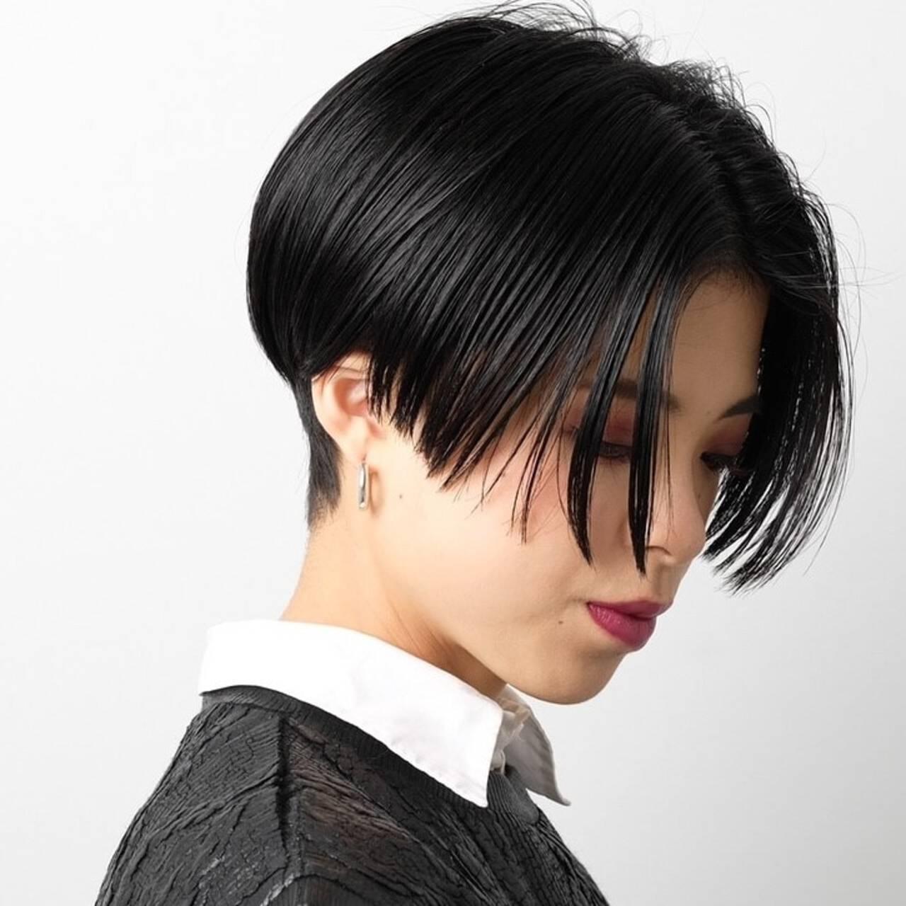 似合わせカット PEEK-A-BOO モード 阿藤俊也ヘアスタイルや髪型の写真・画像