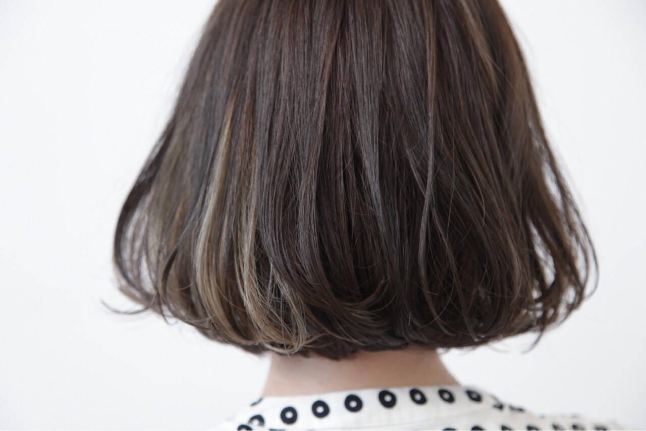 色気 黒髪 イルミナカラー モードヘアスタイルや髪型の写真・画像