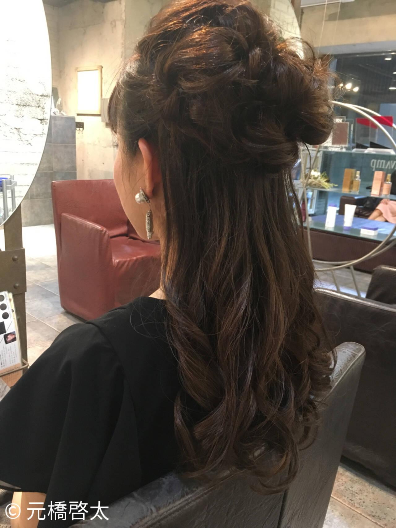 ロング ヘアアレンジ ショート 編み込みヘアスタイルや髪型の写真・画像
