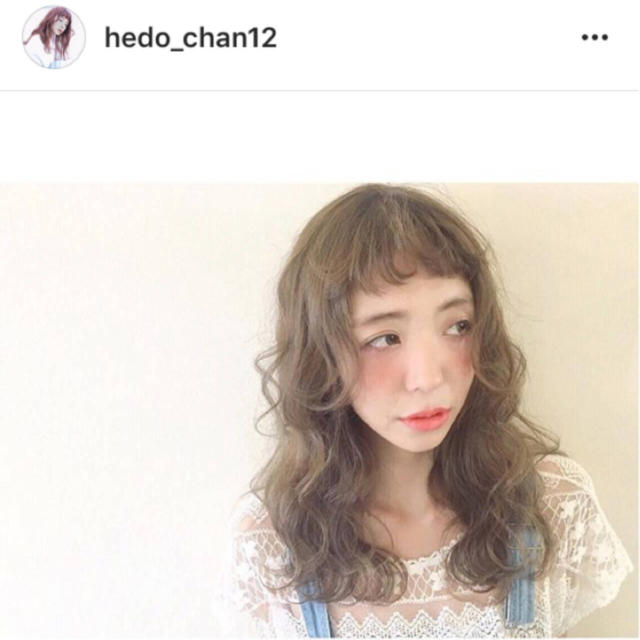 ウェーブ ロング 外国人風 ガーリーヘアスタイルや髪型の写真・画像