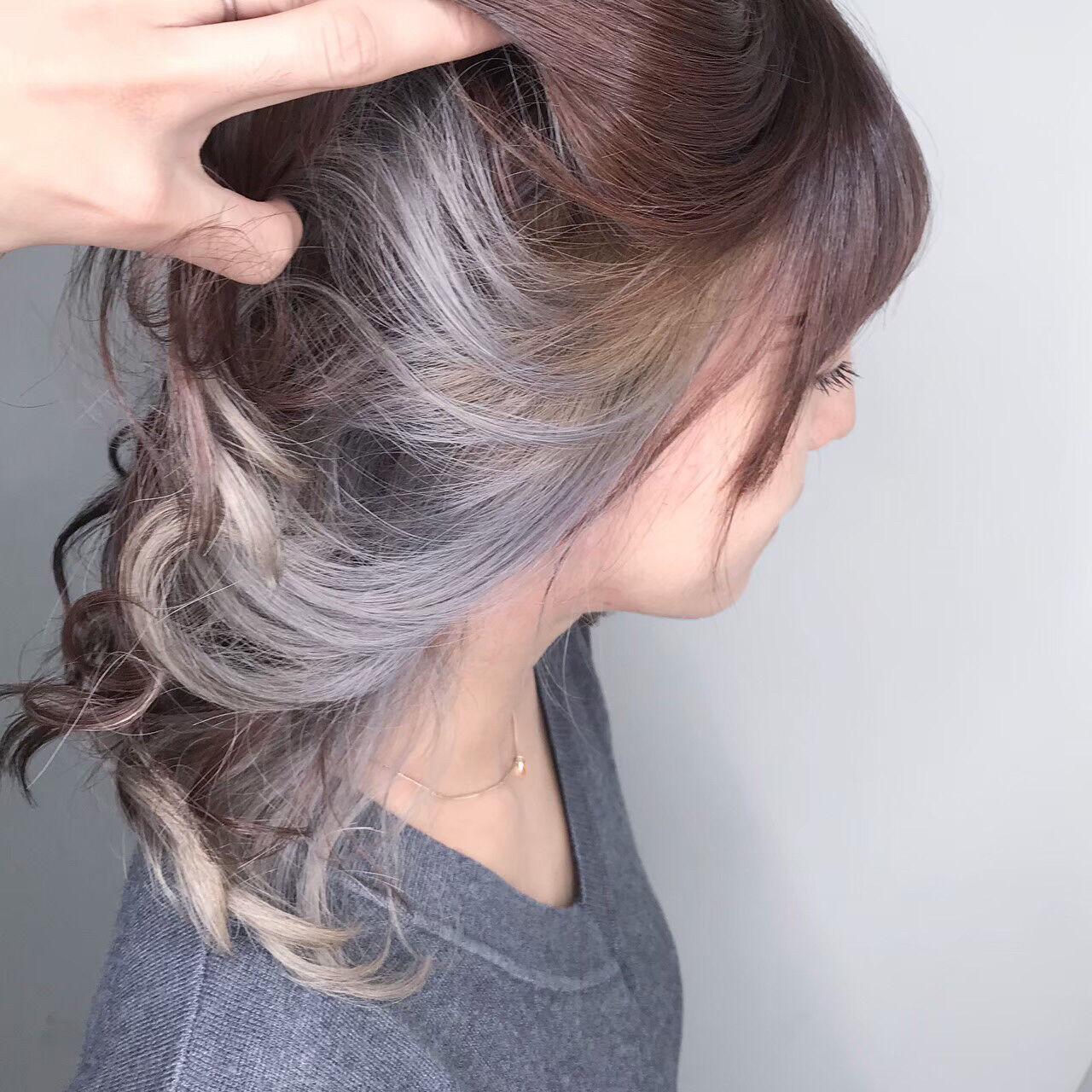 ベリーショート デート ナチュラル ハイライトヘアスタイルや髪型の写真・画像