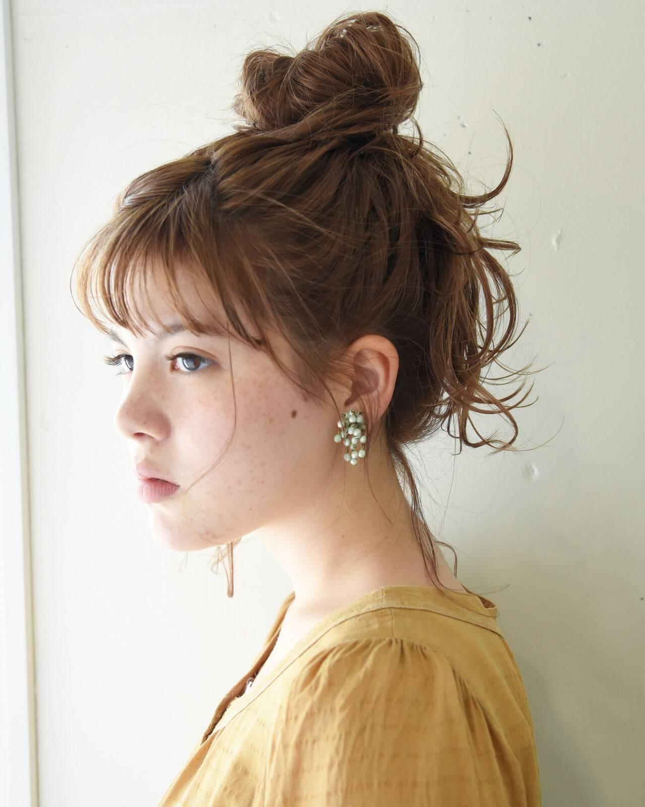 ヘアアレンジ デート 大人かわいい 簡単ヘアアレンジヘアスタイルや髪型の写真・画像