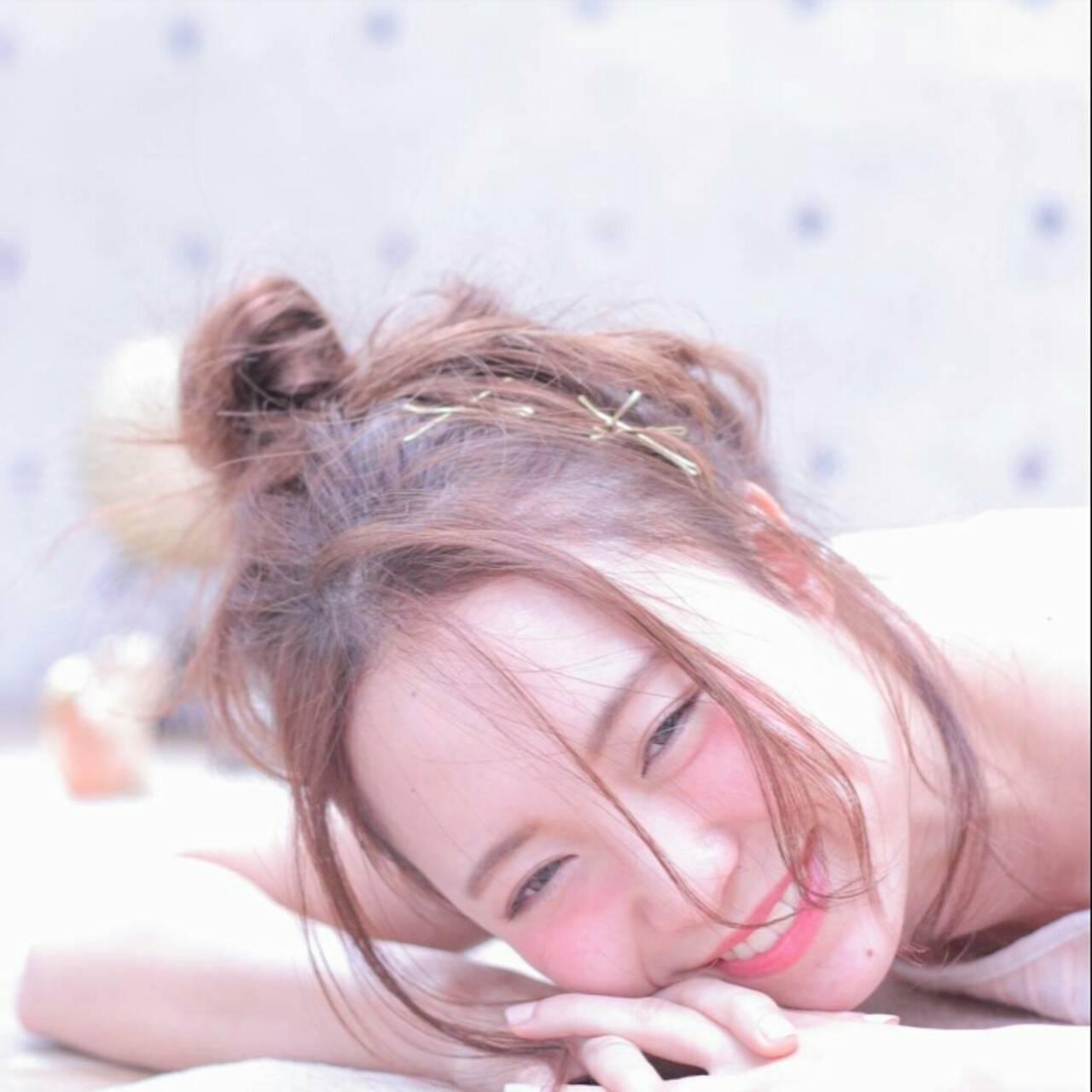 大人かわいい ショート おフェロ 簡単ヘアアレンジヘアスタイルや髪型の写真・画像