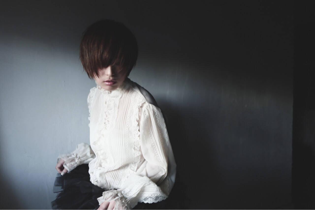 モード ショート 大人かわいい 外国人風ヘアスタイルや髪型の写真・画像