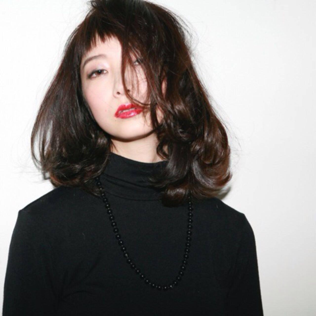 愛され 大人かわいい モード ストリートヘアスタイルや髪型の写真・画像